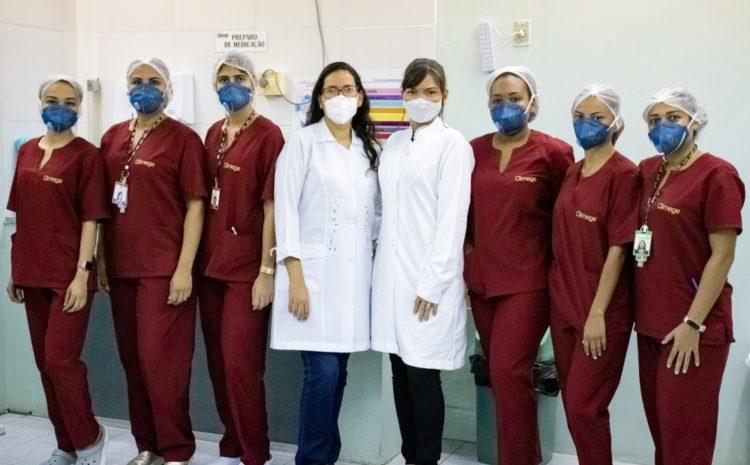 Enfermagem da Climege dribla desafios da pandemia e garante atendimento humanizado